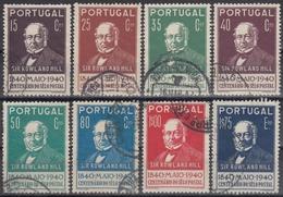 PORTUGAL 1940 Nº 600/07 USADO - Oblitérés