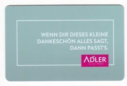 Geschenkkarte Adler  Gift - Gift Cards