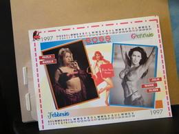 MONDOSORPRESA, (LB20) CALENDARIO 1997, SEXY (INSERTO) BOSS - Calendars