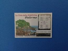 GRATTA E VINCI USATO L. 2000 LE CITTÀ DELLA FORTUNA PALERMO - Lottery Tickets