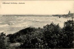 ALTE POSTKARTE KOLBERG MAIKUHLE LEUCHTTURM COLBERG KOLOBRZEG POMMERN Lighthouse Phare Ansichtskarte AK Cpa Postcard - Pommern
