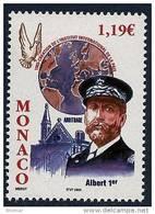 "Monaco YT 2387 "" Prince Albert 1er "" 2003 Neuf** - Unused Stamps"