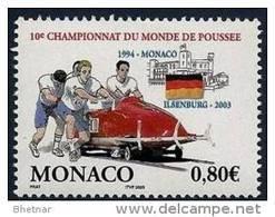 "Monaco YT 2385 "" Bobsleigh "" 2003 Neuf** - Unused Stamps"
