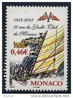 "Monaco YT 2384 "" Yacht-Club "" 2003 Neuf** - Unused Stamps"