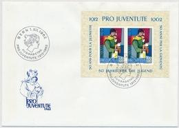 1962 Illustriertes Pro Juventute FDC Ohne Adresse - 199 / Bl. 18 - Pro Juventute