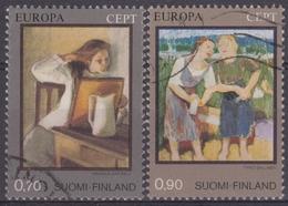 FINLANDIA 1975 Nº 728/29 USADO - Finlandia