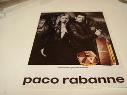 PUBLICITE AFFICHE PARFUM  MILLION  DE PACO RABANNE 2016 - Perfume & Beauty