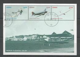 Norway 2012 Aviation Centenary S/S Y.T. F 1731 (0) - Blocks & Sheetlets