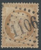 Lot N°44770   Variété/n°36, Oblit GC 1106 Condé-sur-Noireau, Calvados (13), Embriquement NORD OUEST - 1870 Siege Of Paris