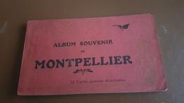 Album Souvenir De 12 CPA De Montpellier - Montpellier