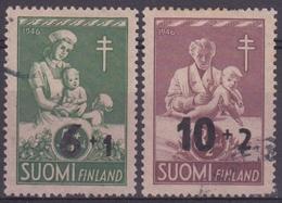 FINLANDIA 1947 Nº 324/25 USADO - Finlandia
