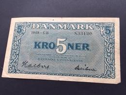 DENMARK P35 5 KRONER 1948 VF - Danemark