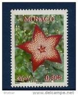 """Monaco YT 2368 """" Noël - Fleur """" 2002 Neuf** - Monaco"""