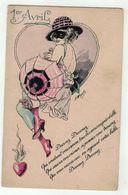 Illustrateur A.Wuyts // Pierrot, Devinette, Fantaisies Parisiennes (1er Avril)série 48 - Wuyts