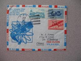Lettre Explorations Polaires Des USA 1967 Public Information Officier USS Nautilus Artic Pour La France à Voir - Postal History