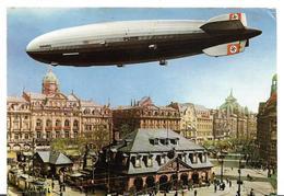 ~  JP  ~ ALT FRANKFURT   ~     Zeppelin Hindenburg 1936 - Frankfurt A. Main