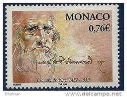 """Monaco YT 2343 """" Léonard De Vinci """" 2002 Neuf** - Nuovi"""