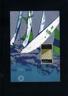 Germany / Deutschland 1972 Olympische Spiele Muenchen Offizielle Olympia Poster Interessante Postkarte - Summer 1972: Munich