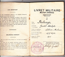 Ancien Livret Militaire - Army & War