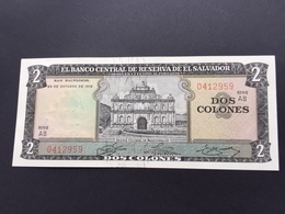 SALVADOR P116A 2 COLONNES 24.10.1972 UNC - Salvador