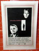 UN'ALTRA DONNA CIAK MINI LOCANDINA - Manifesti & Poster