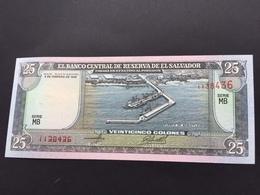 SALVADOR P142 25 COLONES 1996 UNC - El Salvador