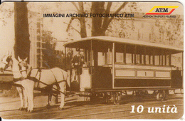ITALY - Tram, Interoute Prepaid Card 10 Units, Exp.date 31/12/00, Mint - Trains