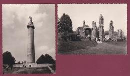 200918 - 2 PHOTOS 1963 - 55 MONTFAUCON D'ARGONNE Ruines Du Village Mémorial Américain - France
