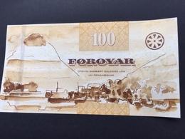 FEROE P30 100 KRONUR 2012 UNC - Féroé (Iles)