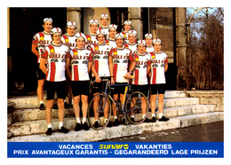 CARTE CYCLISME GROUPE TEAM BOULE D'OR 1980 - Cycling