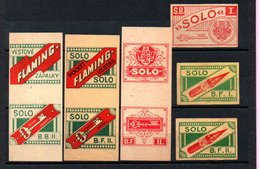 Czechoslovakia Matchbox Labels, 1918-1945., Solo - Matchbox Labels