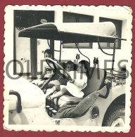 ANGOLA - JEEP WILLYS - 1950 REAL PHOTO - Photographs