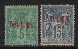 Port Lagos - N°1 + N°3 - Neufs Avec Charnieres * - Cote +135€ - Porto Lagos (1893-1931)