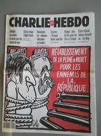 CHARLIE HEBDO 1993 N°66 - PEINE DE MORT - DE VILLIERS - SOLJENITSYNE - DESSIN DE GEBE - Newspapers