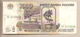 Russia - Banconota Circolata Da 1000 Rubli P-261 - 1995 - Russie