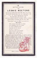 DP Leonie Neetens ° Meire Mere Erpe-Mere 1852 † 1920 - Devotion Images