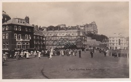 Old  Real Photo Postcard;Royal Pavilion Hotel. Folkstone. C1900? - Folkestone