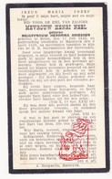 DP Hendrika Driessen ° Elen Dilsen-Stokkem 1845 † Maaseik 1925 X H. Neel - Devotion Images