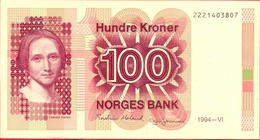 Norway 100 Kroner 1994 UNC Pic 43e - Norvège