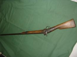 épave Fusil Militaire M.le 1842 - Decorative Weapons