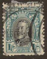 SOUTHERN RHODESIA 1931 1/- KGV P11.5 SG 23a U ##SH74 - Southern Rhodesia (...-1964)