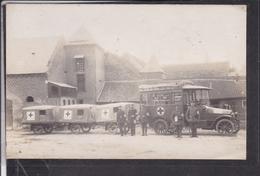 Foto Rotes Kreuz ( Nesle ? ) - Weltkrieg 1914-18