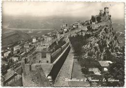 X4251 Repubblica Di San Marino - La Fortezza - Panorama / Viaggiata - San Marino
