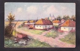 UKR15-93 G.KAPUSTIN AM DORFEINGANG - Ukraine