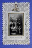 IMAGE PIEUSE  FAIRE PART DE DECES  1847  SAINT AUGUSTIN - Devotion Images