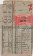Schedina Totocalcio Concorso 39 Del 18.06.1961 - Sports