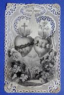 IMAGE PIEUSE    CANIVET      MAISON BASSET   DEUX SACRES COEUR - Devotion Images