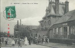 Bertry : Grande Rue Et Château. Estaminet. Très Animée! - Francia