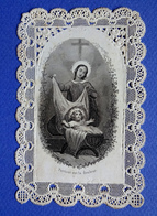 IMAGE PIEUSE    CANIVET     JESUS CRECHE - Devotion Images