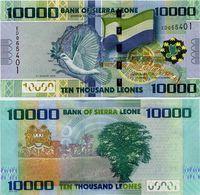 SIERRA LEONE       10,000 Leones       P-33b       4.8.2013       UNC  [ 10000 ] - Sierra Leone